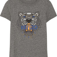 KENZO - Tiger printed cotton-jersey T-shirt