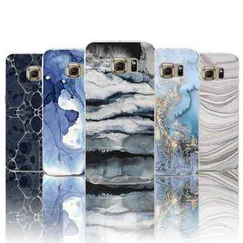 Marble look cases for Samsung