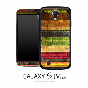 Colorful Horizontal Stripe Skin for the Galaxy S4