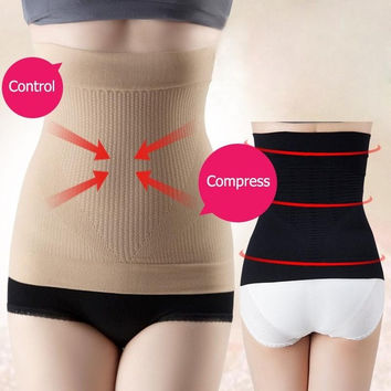LOS F Profressional Hot Control Shapers Compression Waist Cincher Fat Burning Weight Loss Corsets Waist Trainer for Women NY056Y = 1929934468