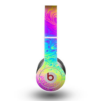 The Neon Color Fushion V2 Skin for the Beats by Dre Original Solo-Solo HD Headphones