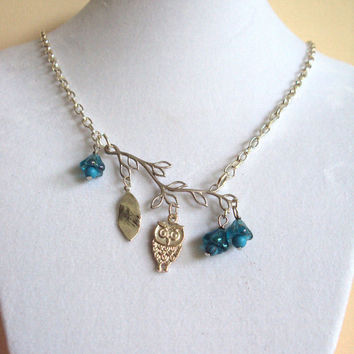 Owl Always Be Here For You Necklace