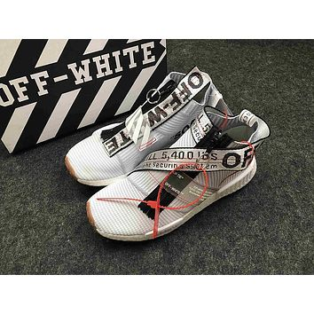 OFF-WHITE x adidas Originals NMD City Sock NMD MID OW Running Sneaker BA7208NMD