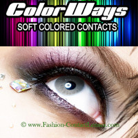 Stormy Colorways Contact Lenses change your eye color light gray
