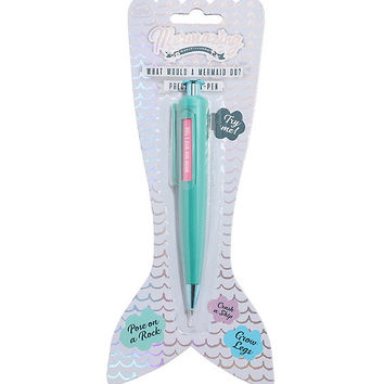 Mermazing Mermaid Decision Click Pen