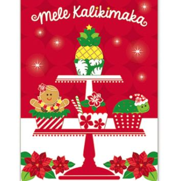 """Christmas Cards """"Holiday Treat"""" 12-pack"""