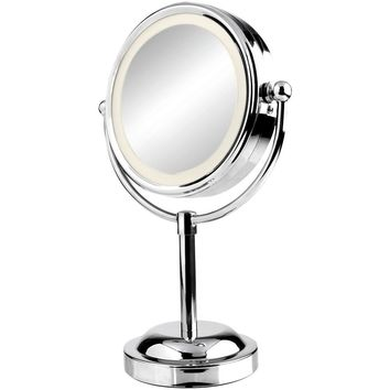 Vivitar Double Sided Lighted Vanity Mirror