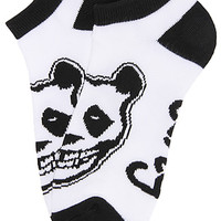 LRG (Lifted Research Group) Core Collection The Crimson Panda No Show Socks in White