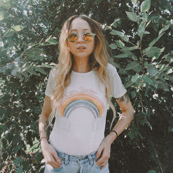 Share your Rainbow 70s Retro Tee