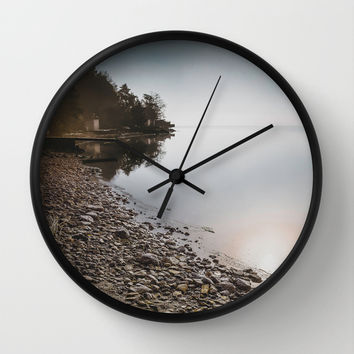 The trampoline Wall Clock by HappyMelvin
