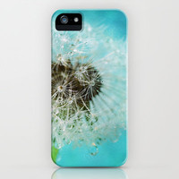 dandelion-one iPhone Case by Sylvia Cook Photography