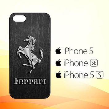 Ferrari Logo Wallpapers X4574  iPhone 5|5S|SE Case