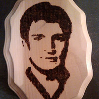 Nathan Fillion Woodburning (pyrography) Plaque