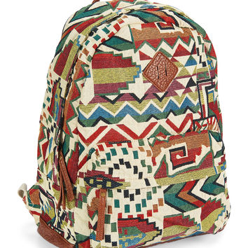 Earthy Geo Print Backpack