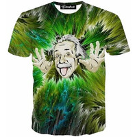 Einstein Green Tee