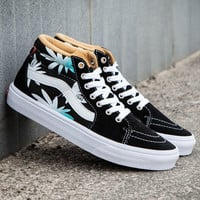 Trendsetter VANS SK8-Hi Print Canvas Ankle Boots Shoes Sneakers Sport Shoes