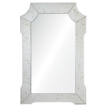 Mirrors, Isault Wall Mirror, Antique Gold, Wall Mirrors