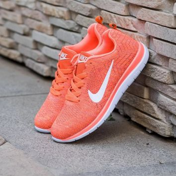 """NIKE"" Trending Fashion Casual Sports Shoes Orange"