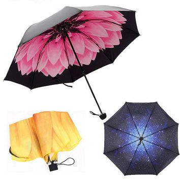 3D Beautiful Printed Umbrella