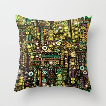 :: Windy City :: Throw Pillow by :: GaleStorm Artworks ::