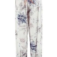 Aya Belted Paisley Woven Casual Jogger