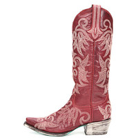 Lane Wild Ginger Cowgirl Boots LB0031D RED - PFI Western Store