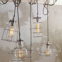 Aldea Home | Factory Cage Lamps
