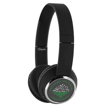 Anything You Can Do I Can Do Vegan Wireless Bluetooth Headphones Beebop