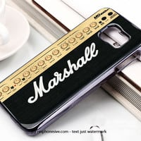 Marshall Guitar Amp Samsung Galaxy S6 and S6 Edge Rubber Case