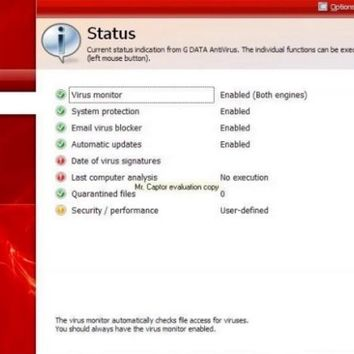 G Data Antivirus 2016 Crack Full Serial Key