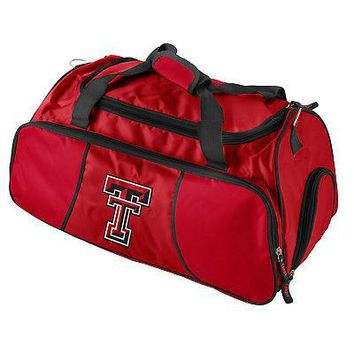 Licensed Texas Tech Red Raiders Official NCAA Athletic Gym Duffle Bag by Logo 220725 KO_19_1