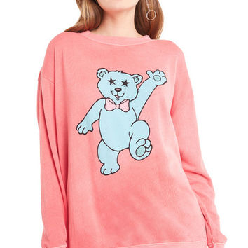 Groovy Teddy Roadtrip Sweater - Wildfox