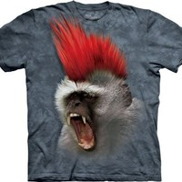 The Mountain Punky Vervet Monkey Child T-shirt