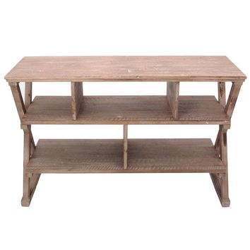 Rustic Cheyenne Console By Crestview Collection Cvfzr880