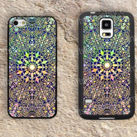 Geometry mandala colorful iphone 4 4s iphone  5 5s iphone 5c case samsung galaxy s3 s4 case s5 galaxy note2 note3 case cover skin