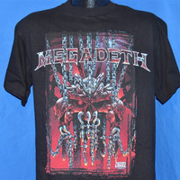 90s Megadeth Cryptic Writings Chaos Comics Metal Rock t-shirt Medium