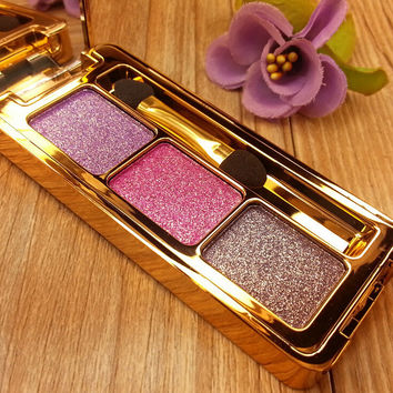 Professional Stylish 3 Colors Eye Shadow