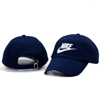 Navy Blue Nike Hook Baseball Cap