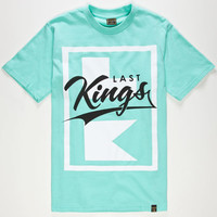 Last Kings Flagship Mens T-Shirt Mint  In Sizes