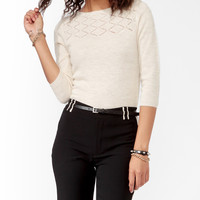 Buttoned Back Sweater