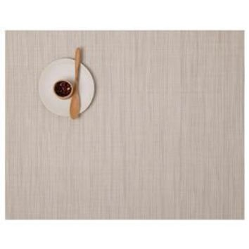 CHILEWICH Bamboo Rectangular Placemat S/4 | Chino