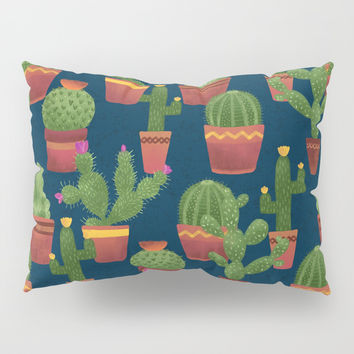 Terra Cotta Cacti Pillow Sham by Noonday Design