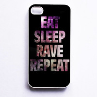 Eat Sleep Rave Repeat Galaxy Phone Cases For iPhone, Samsung, Sony iPod