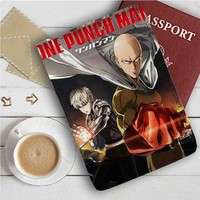 One Punch Man Leather Passport Wallet Case Cover