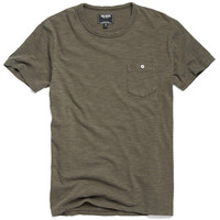Classic Button Pocket T-Shirt in Surplus