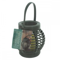 Decorative Beehive Style Lantern With Led Candle OS889