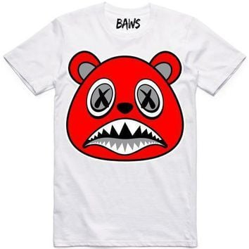 Angry Baws White Shirt
