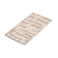 Vintage antique Calligraphy notebook FromMyDesk