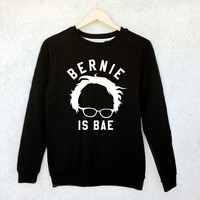 Bernie Sanders is Bae Sweatshirt Jumper in Black