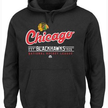 Men's Chicago Blackhawks Intense Defense Hoodie